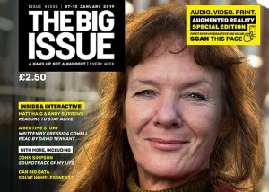 The Big Issue becomes first street newspaper to implement Augmented Reality