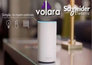 Volara and Schneider Electric Bring Smart Room Controls on Voice Command to Hotels