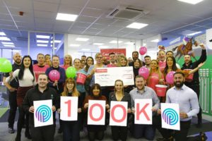 pure technology group gears up to raise £100k for Candlelighters charity