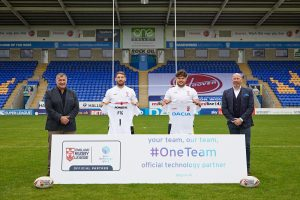 pure technology group becomes official tech partner of England Rugby League