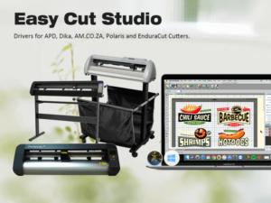 Easy Cut Studio Announces Availability of Drivers for APD, Dika, AM.CO.ZA, Polaris and EnduraCut Cutters.