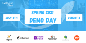 LabEight* Africa Spring 2021 demo day on July 8th