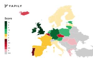 Yapily kicks-off its EU Open Banking league table