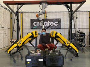 Robotics innovator Createc to provide custom sensor integrations for Boston Dynamics Spot®
